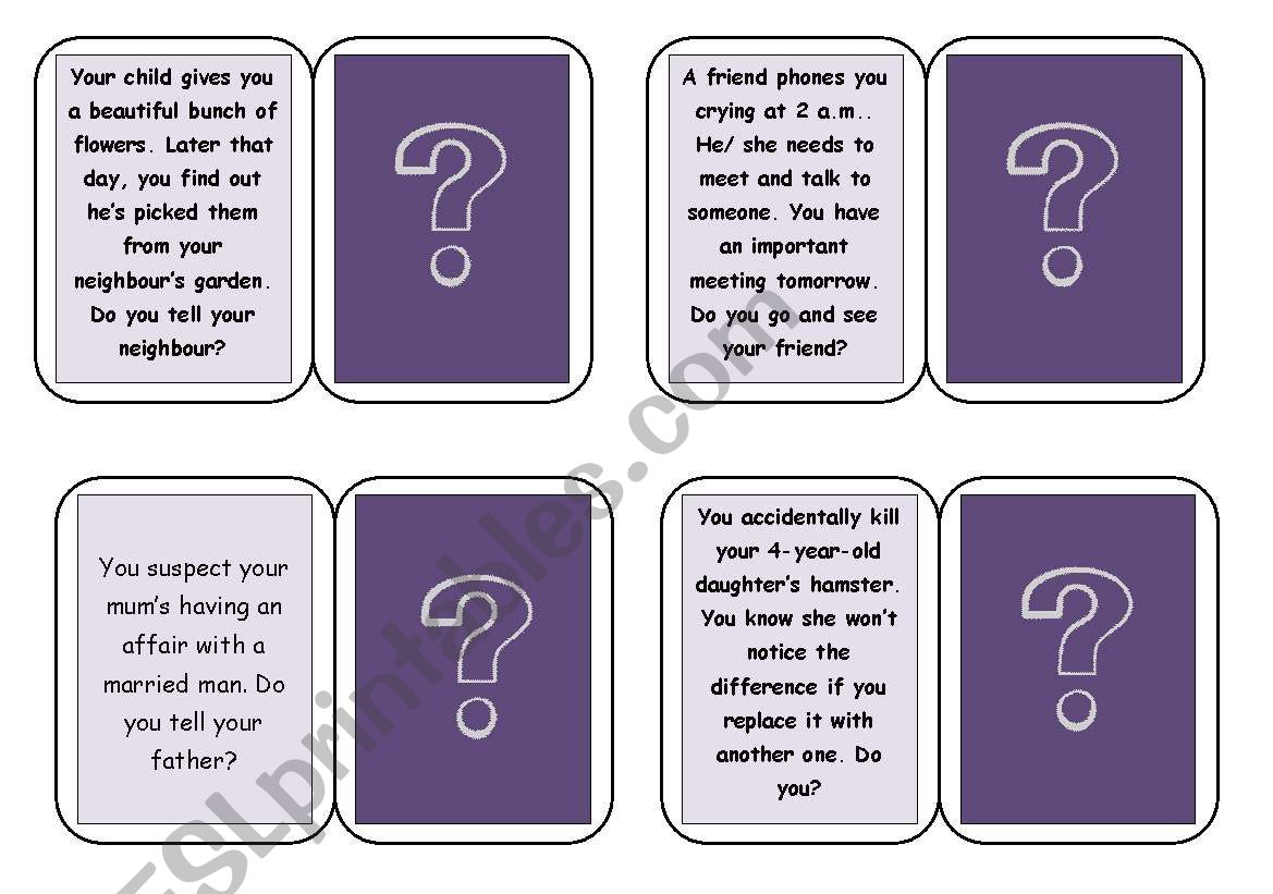 Ethical Dilemmas - PowerPoint PPT Presentation