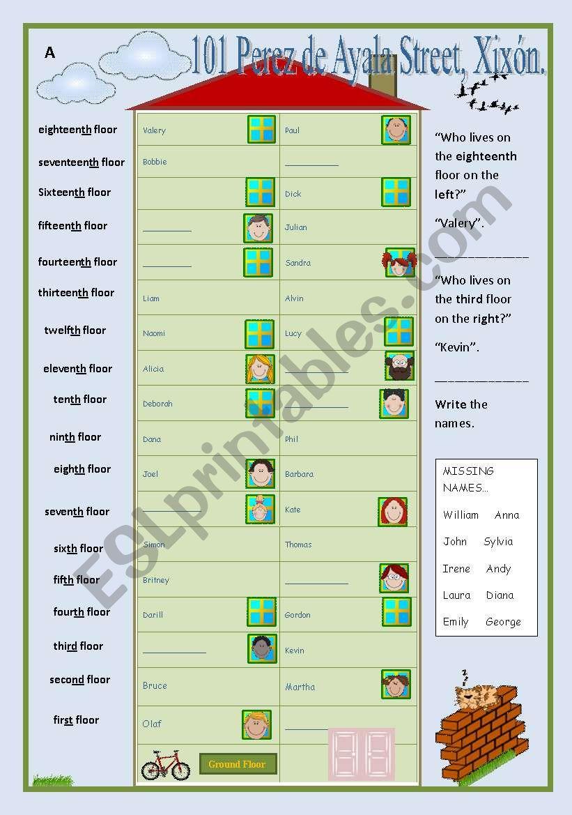 Neighbours (ordinals communicative game)