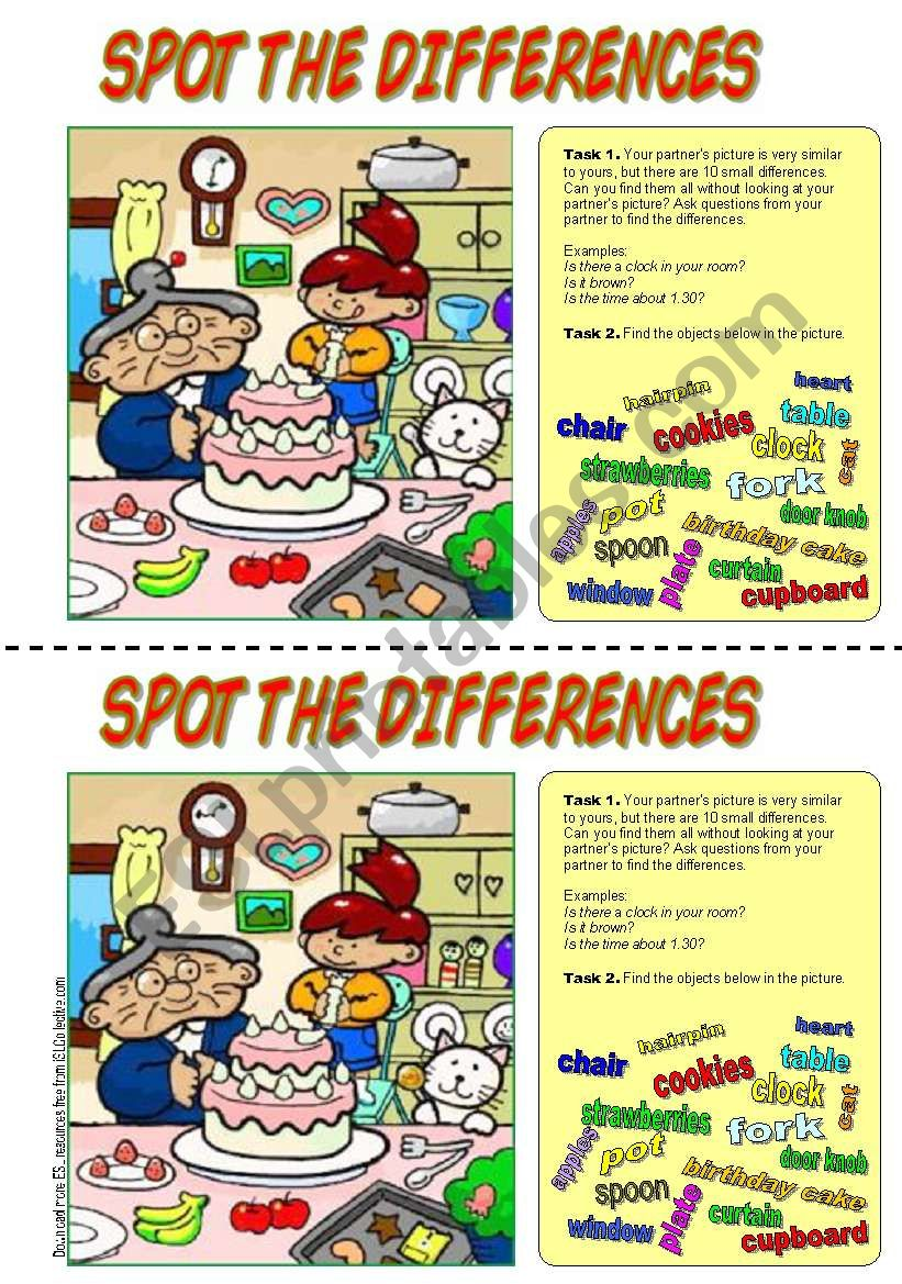 Spot the differences. (Happy birthday!)