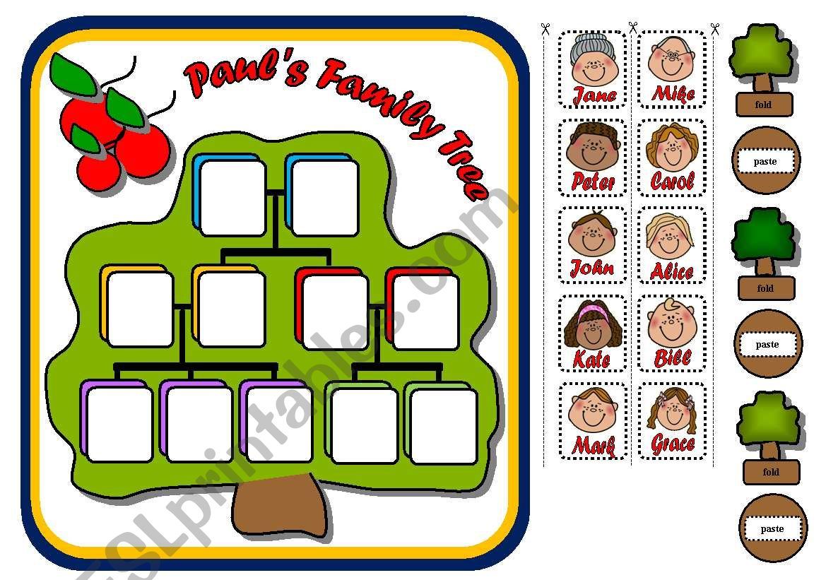 FAMILY BOARD GAME (PART 3) worksheet