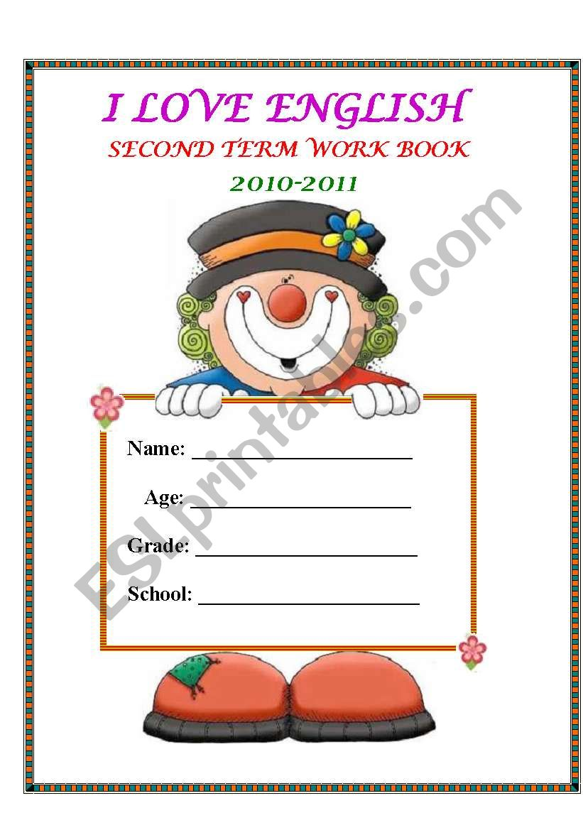 Front page worksheet