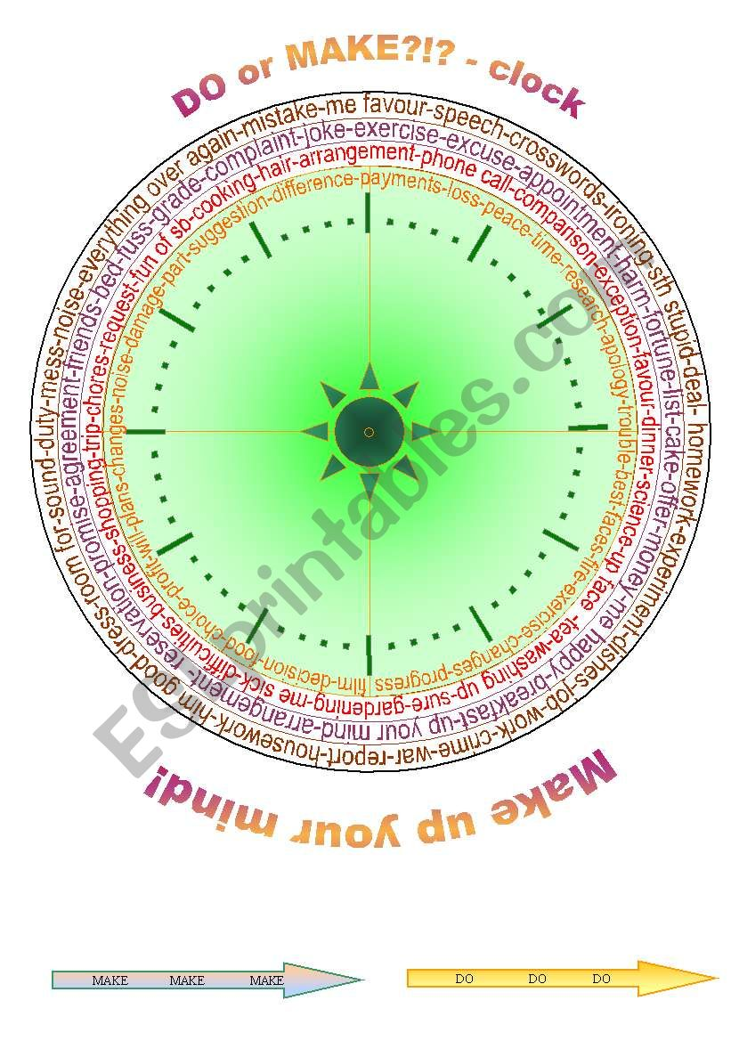 100 DO  x  MAKE interactive CLOCK / boardgame + BOOKMARKS + exs + JOKES + BW ((10_pages)) - A2-B2 level