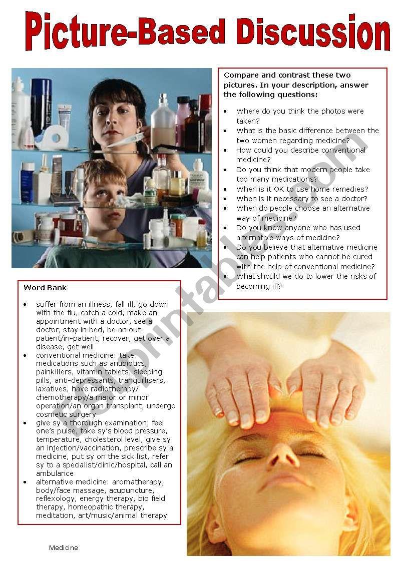 Picture-Based Discussion (14): Medicine