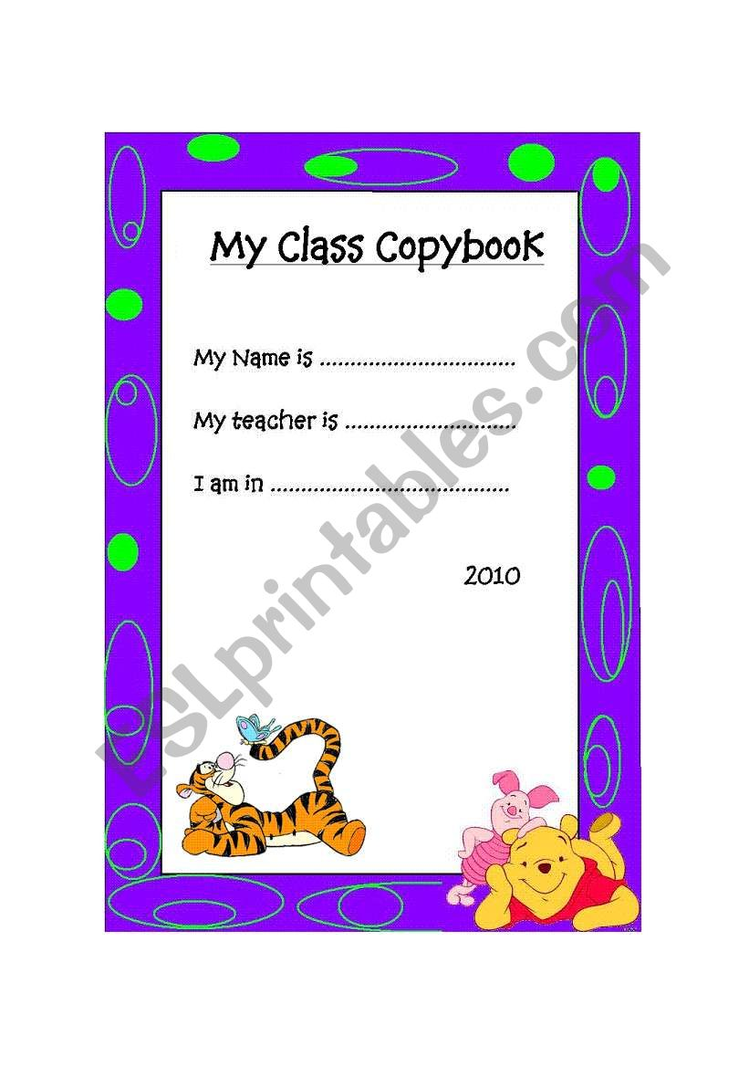 front page 2 worksheet