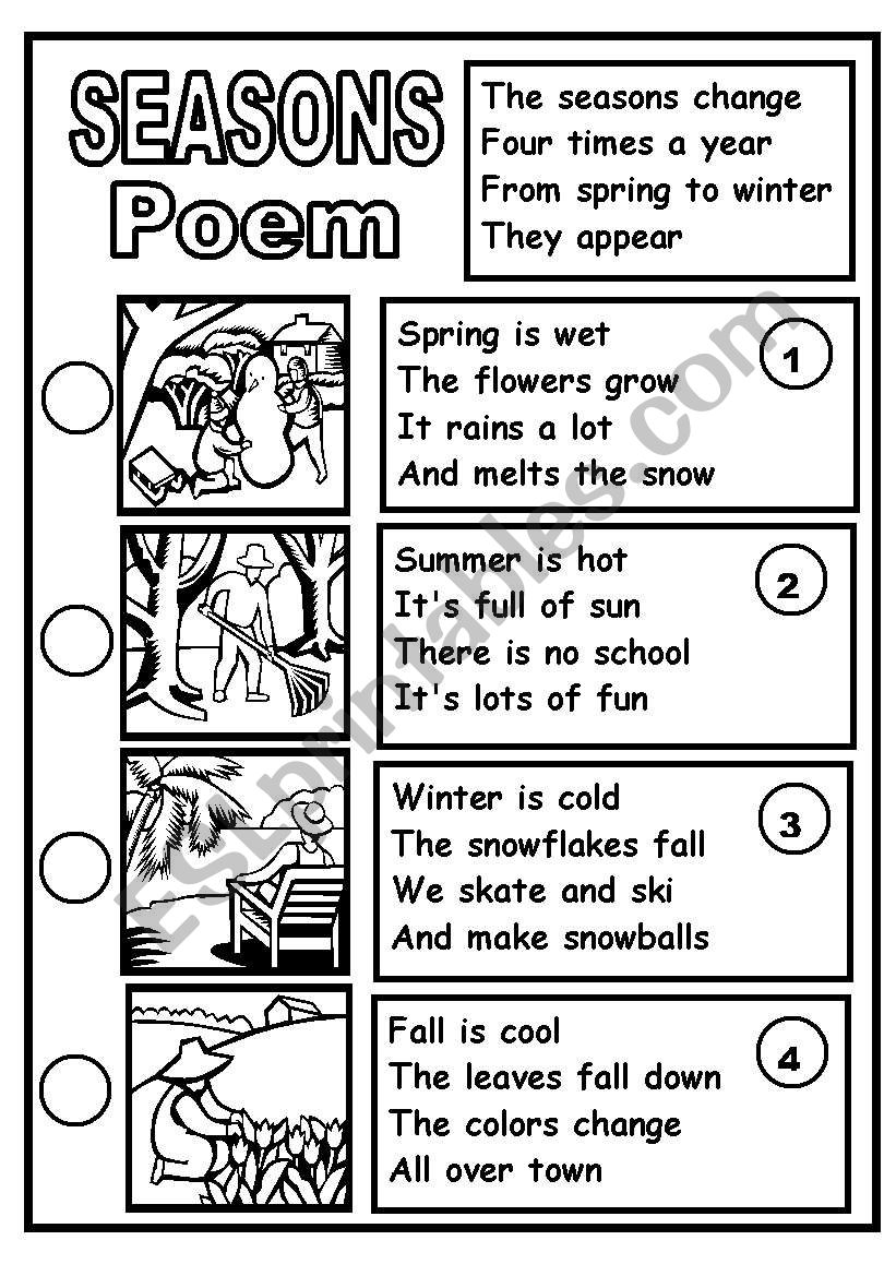 Ereadingworksheets poems