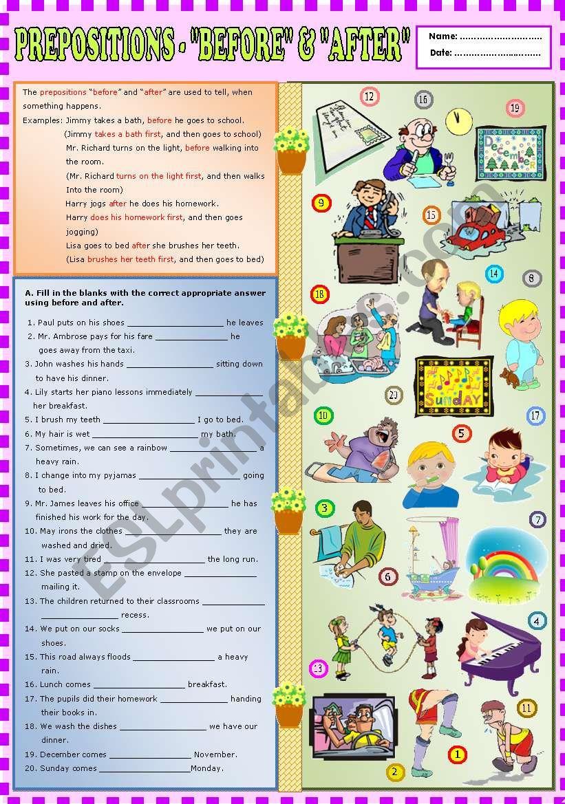 Prepositions -
