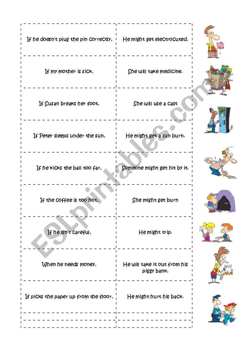Conditional Sentences Type 1 Oral excersice