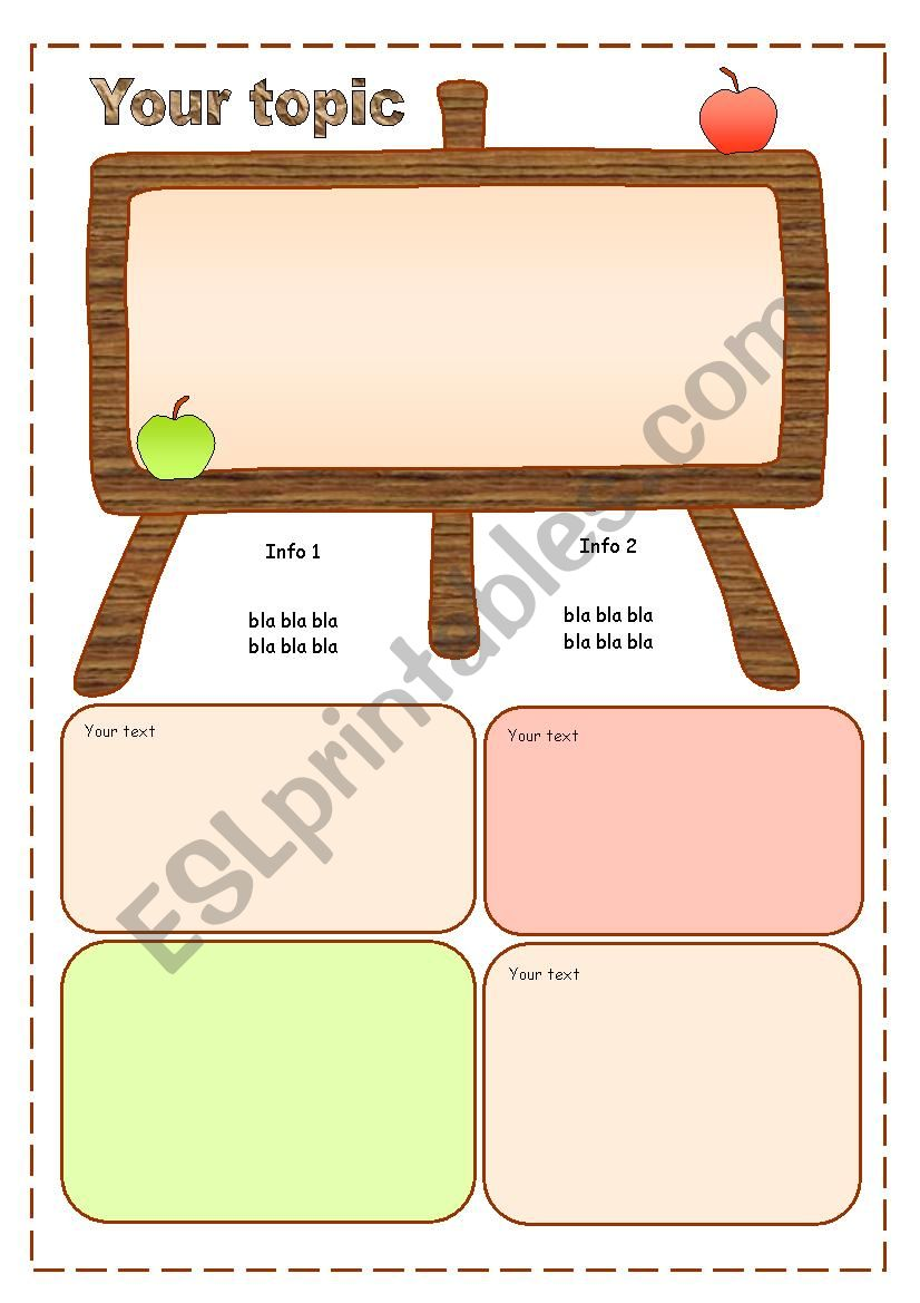19  TEMPLATES  for Original Worksheets :-) FREE :-D -- UPDATED