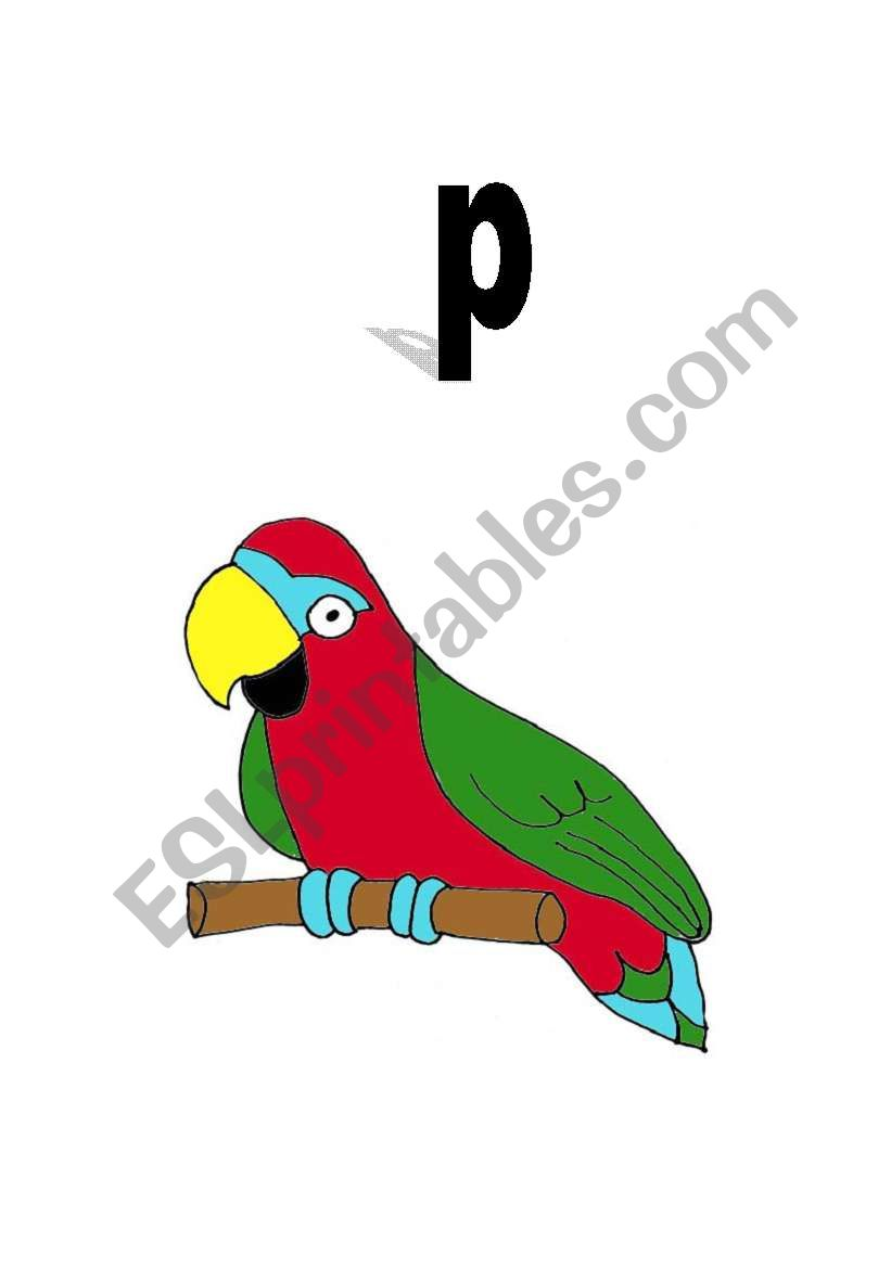 Flashcards to use with Jolly Phonics.