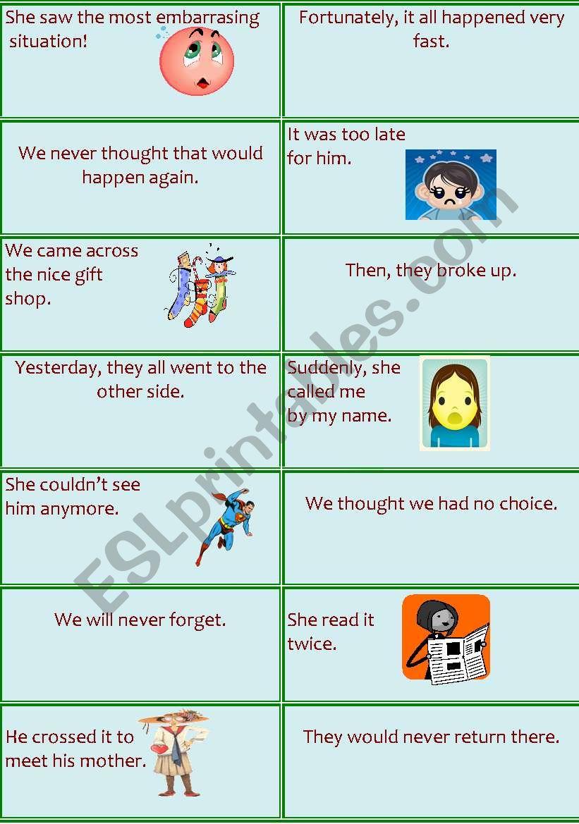 Questioning worksheet
