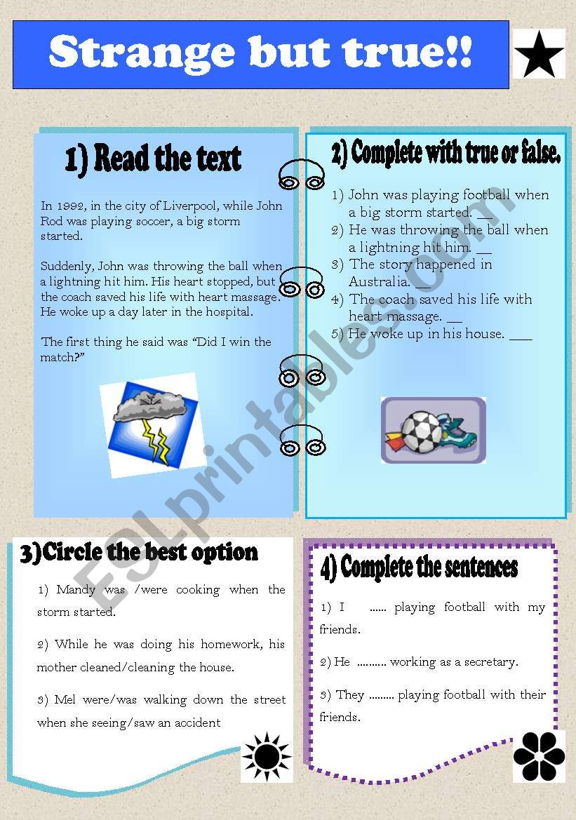 Past continuous - ESL worksheet by ml_22