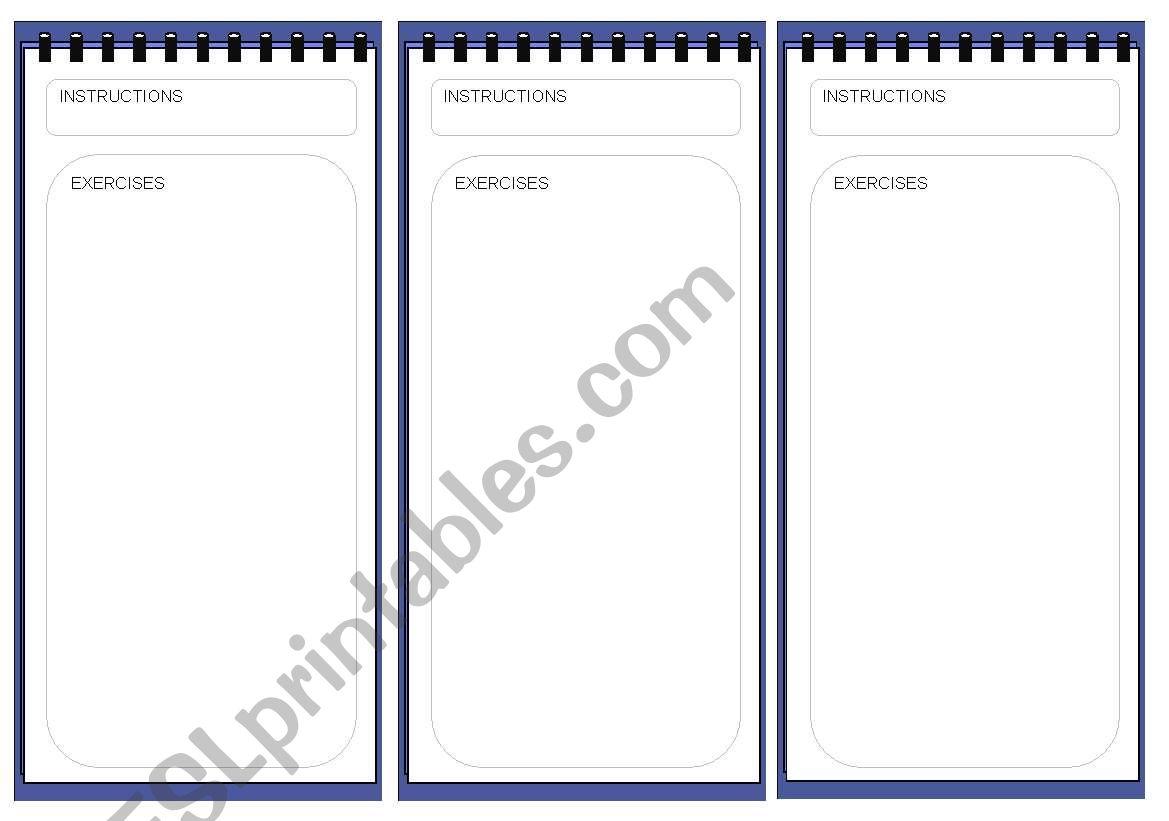 Template 12 worksheet