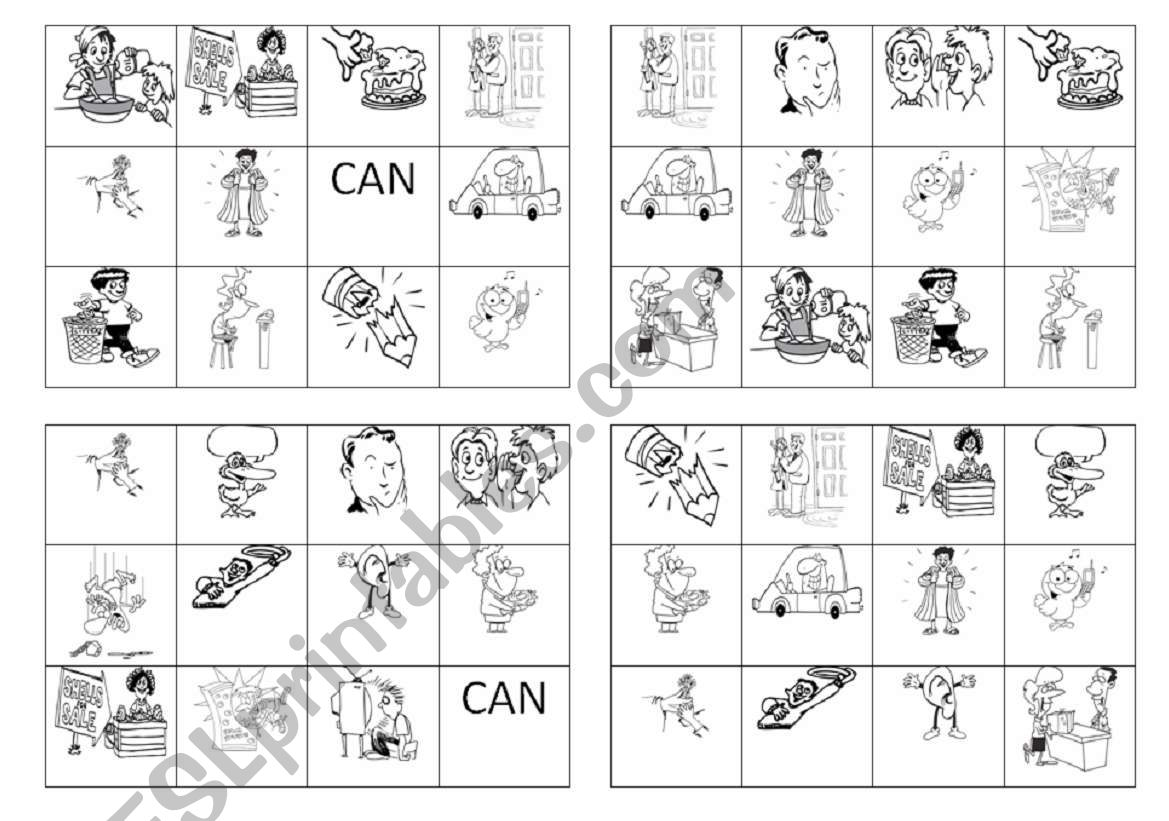 Bingo - irregular verbs part 2