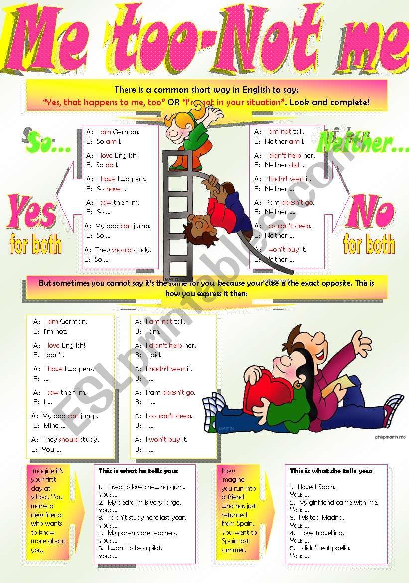 AGREE-DISAGREE worksheet