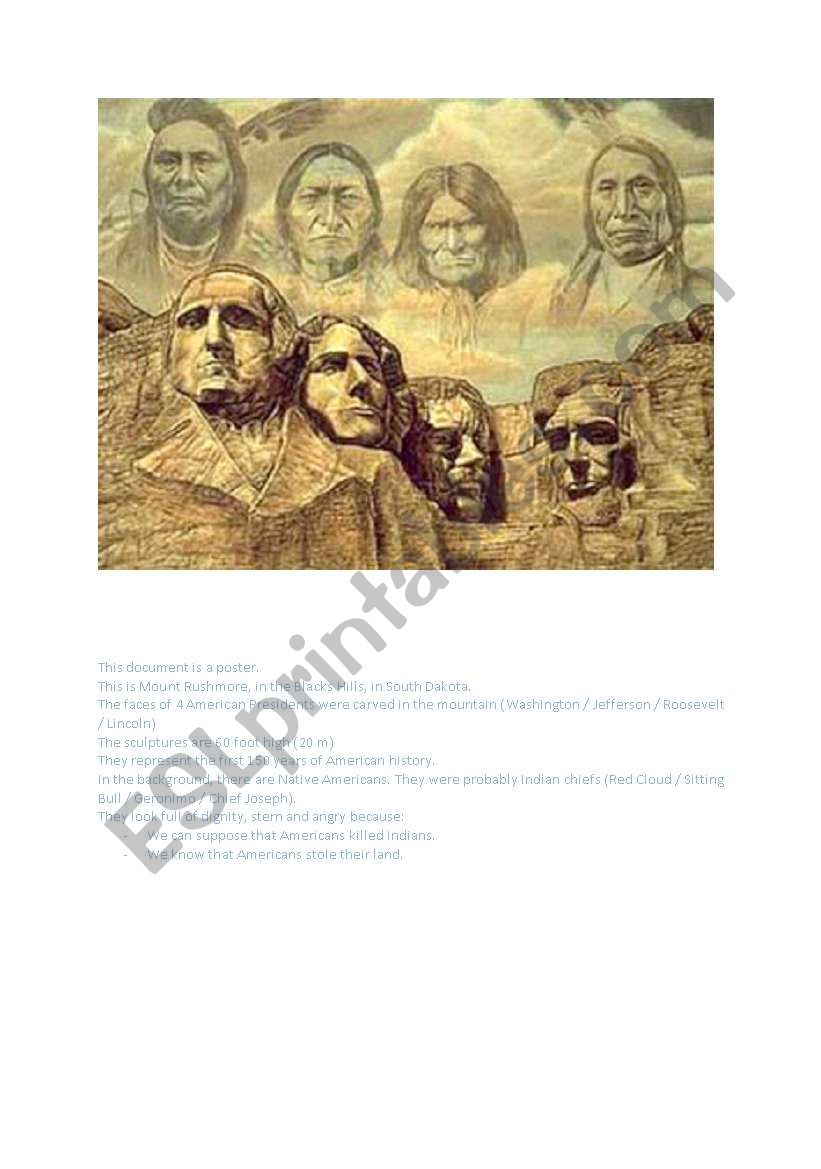 Native Americans and Mount Rushmore