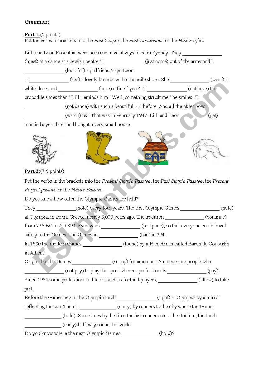 intermediate mix grammar cloze test exercises esl worksheet by akincen. Black Bedroom Furniture Sets. Home Design Ideas