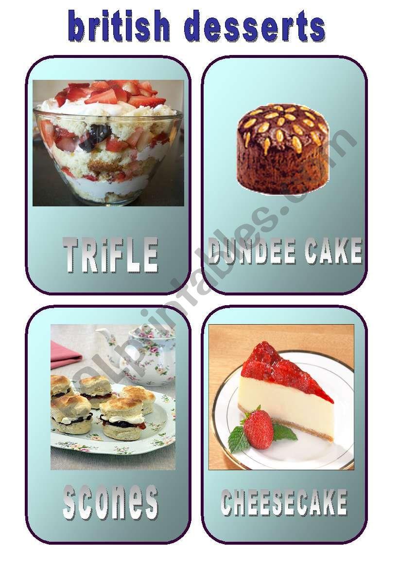 British Desserts 1/2 (19.03.10)