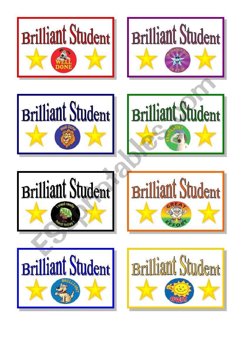 stickers  worksheet