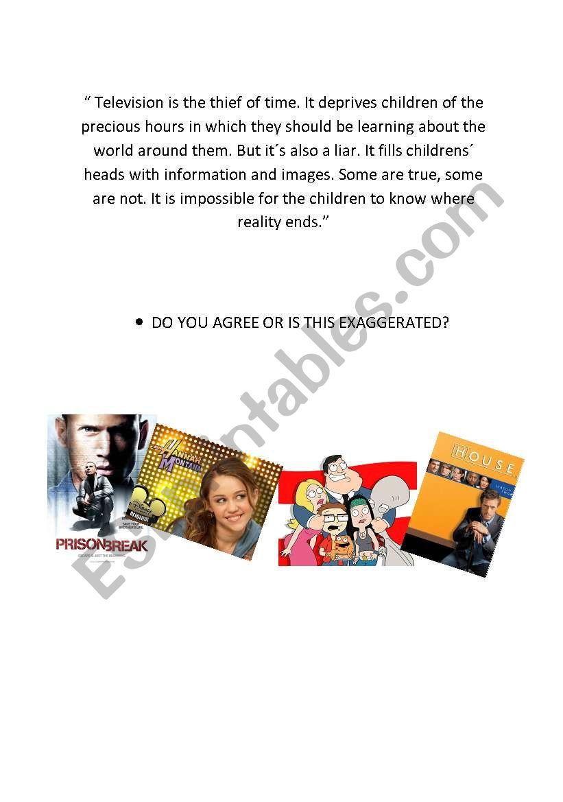 television conversation page 2