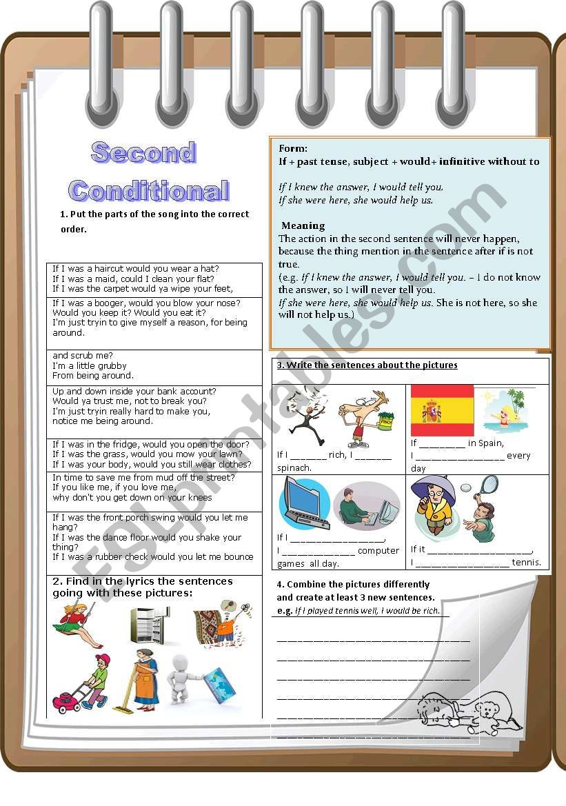 Second Conditional-communicative approach