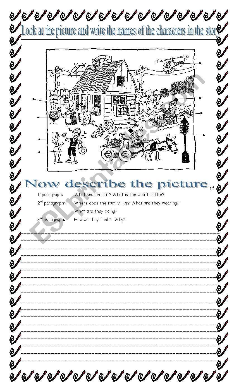 Creative writing - ESL worksheet by gracemb04