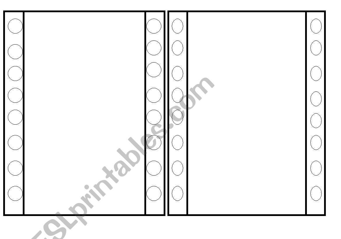 drawing template worksheet