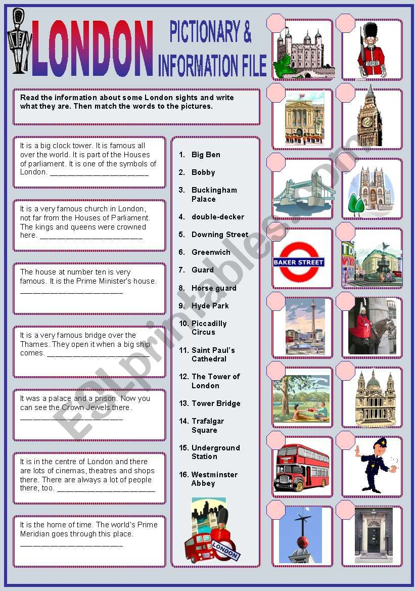 London Tube QUIZ answers. | Ответы