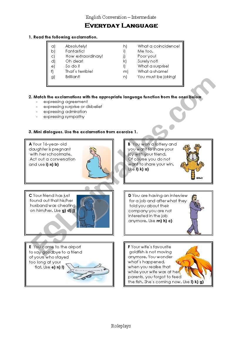 Conversation For Adults worksheet