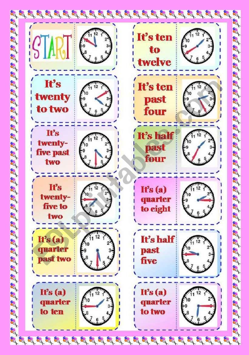 Graminoes Part 1/3 - Telling Time.