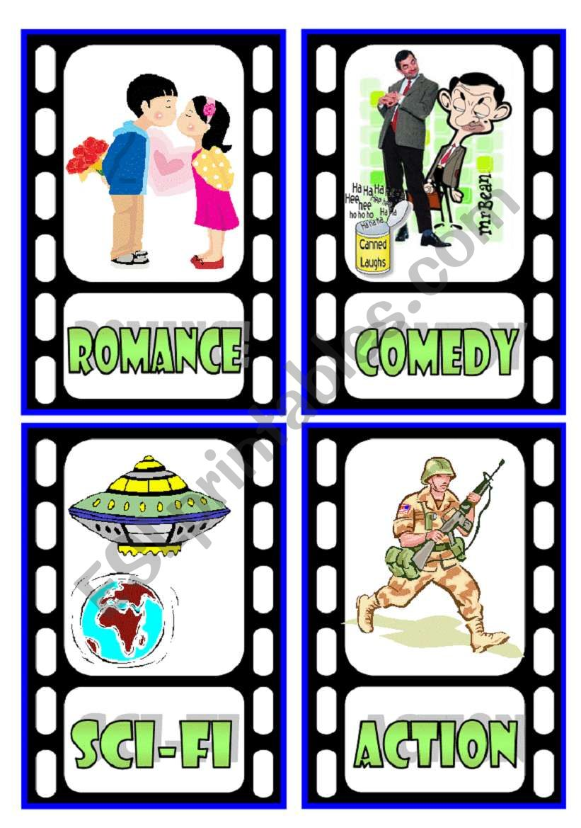 TV Programmes Flashcards (1/3)