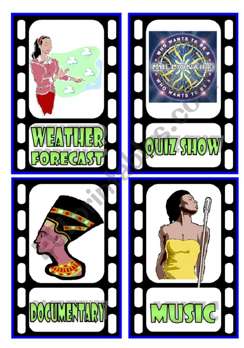 TV Programmes Flashcards (3/3)