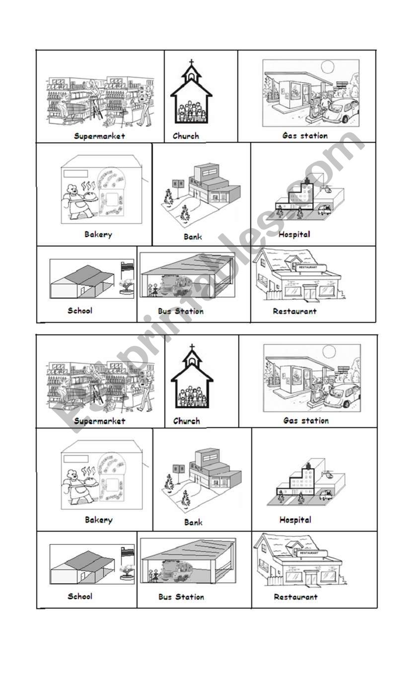 Community Services Esl Worksheet By Kebien