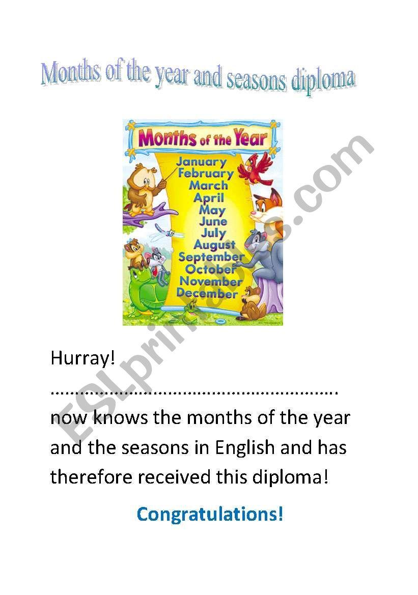 5 English diplomas! Part 2/2 worksheet