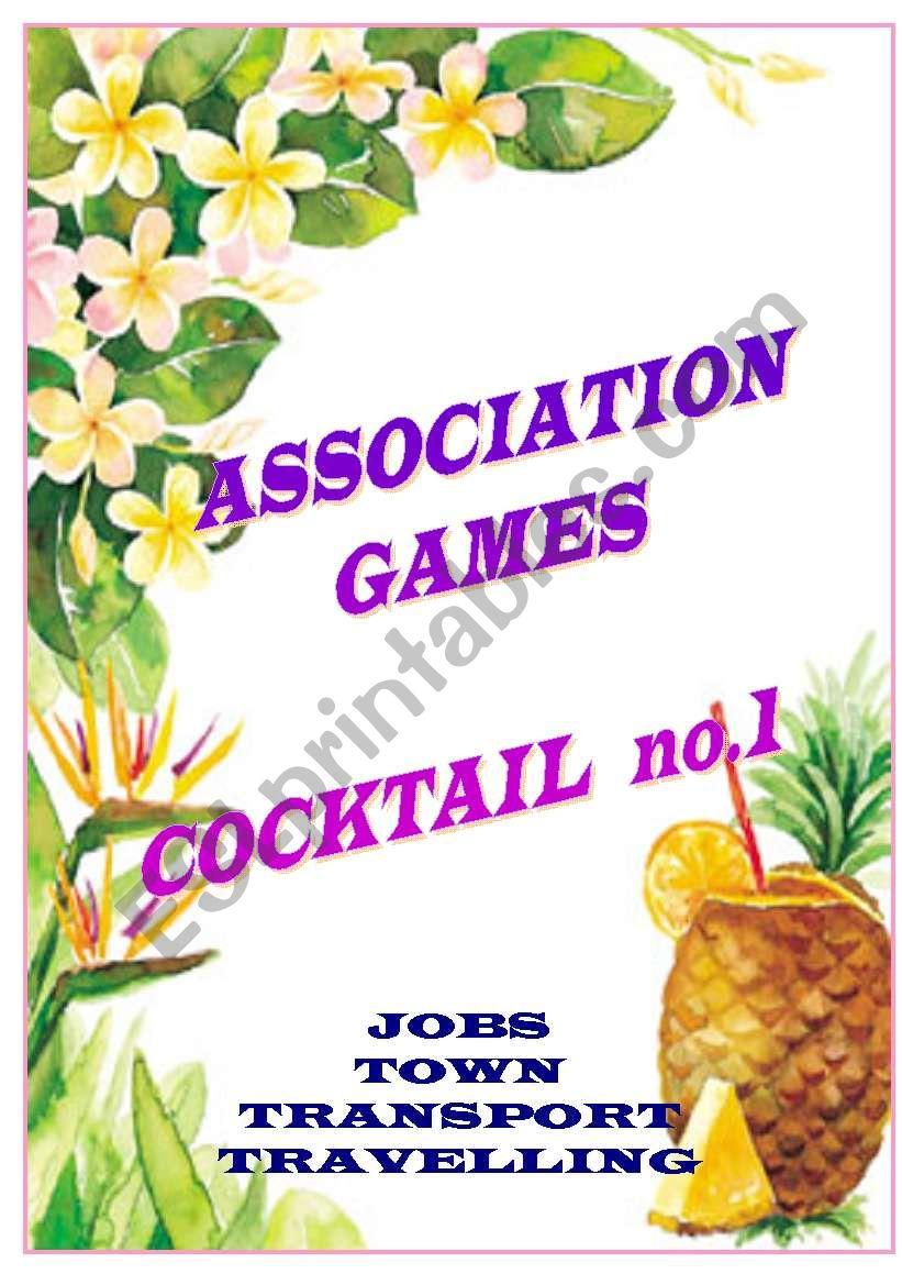 association games cocktail no.1