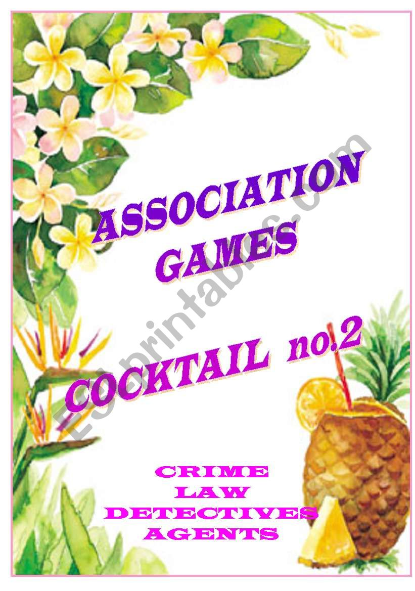 association games cocktail no.2