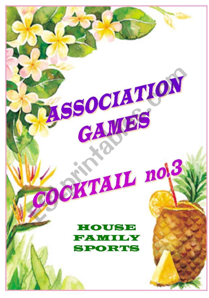 association games cocktail no.3