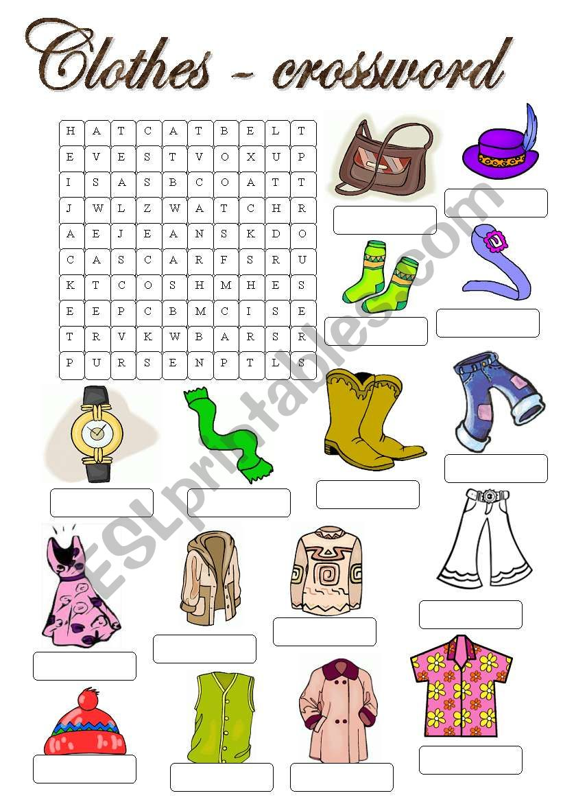 Fun worksheets to learn english