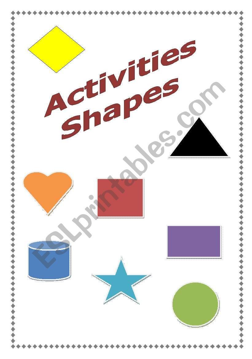 shapes activities esl worksheet by esthy. Black Bedroom Furniture Sets. Home Design Ideas