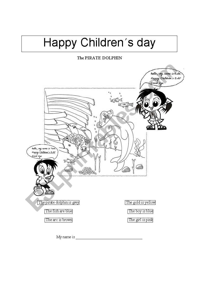 Happy Childrens´ Day - ESL worksheet by ambota