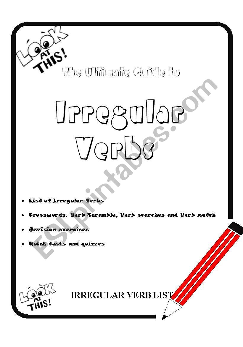 The Ultimate Guide to Irregular Verbs. Part 1
