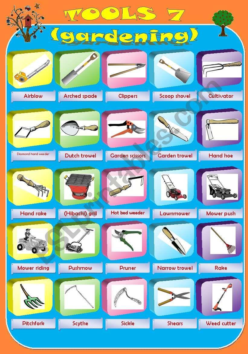 Pictionary gardening tools part 7 esl worksheet by miry pictionary gardening tools part 7 solutioingenieria Gallery