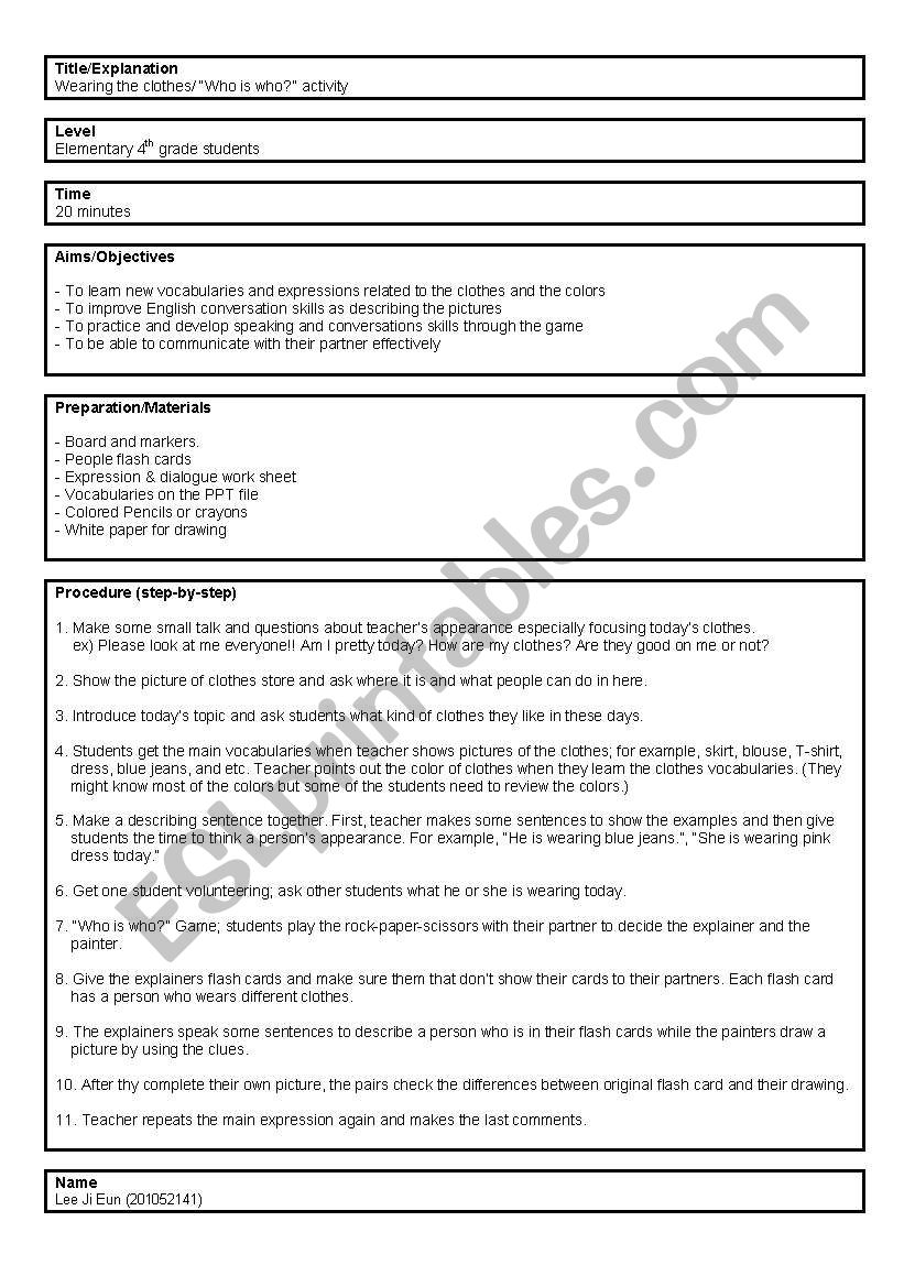 Esl lesson plans for high school pdf