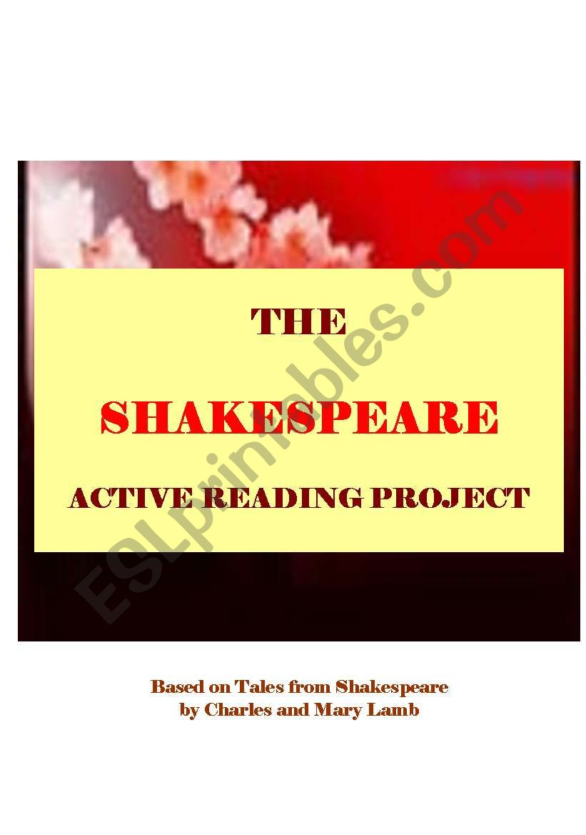 TALES FROM SHAKESPEARE - active reading workshop based on Lamb´s stories