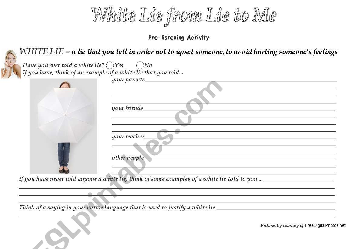 White Lie Song From To Me Series 3 Wss