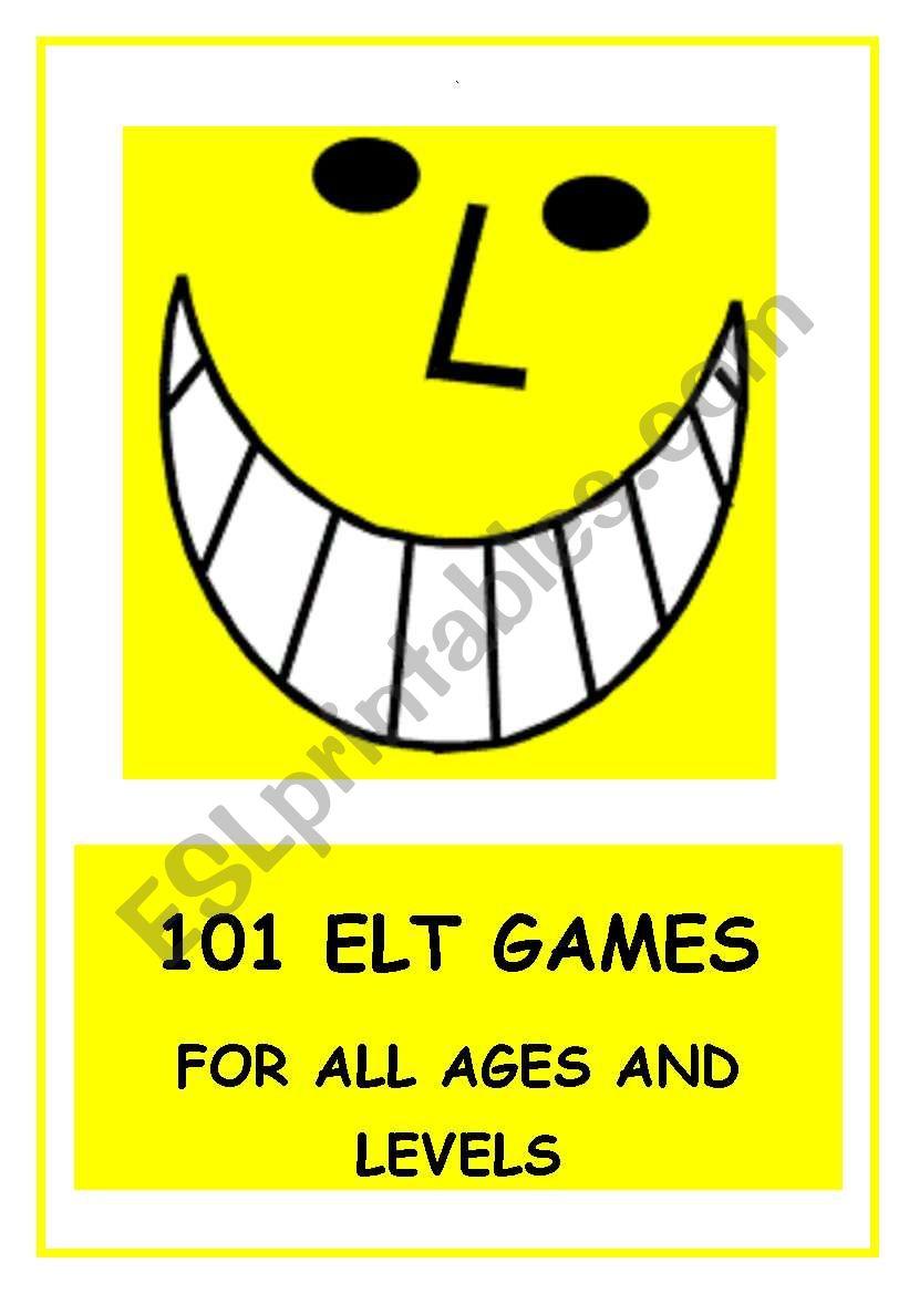 101 ELT GAMES!  15 pages of communicative activity ideas!
