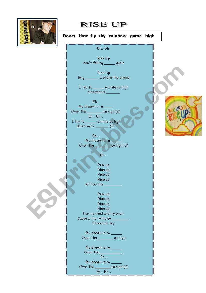 very easy to sing worksheet