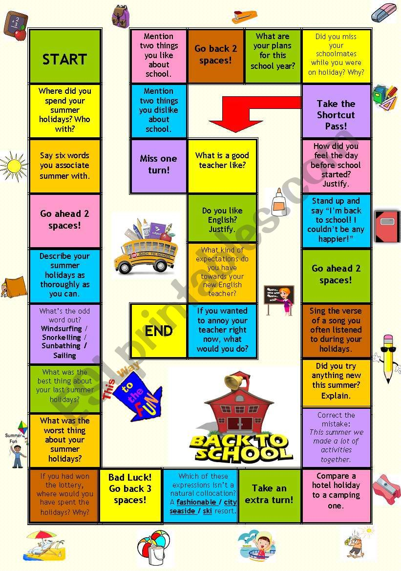 how to make a board game for school