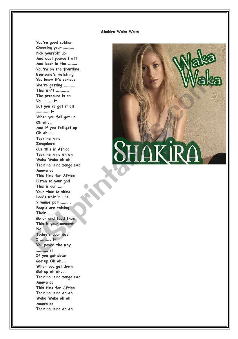 download song shakira shakira