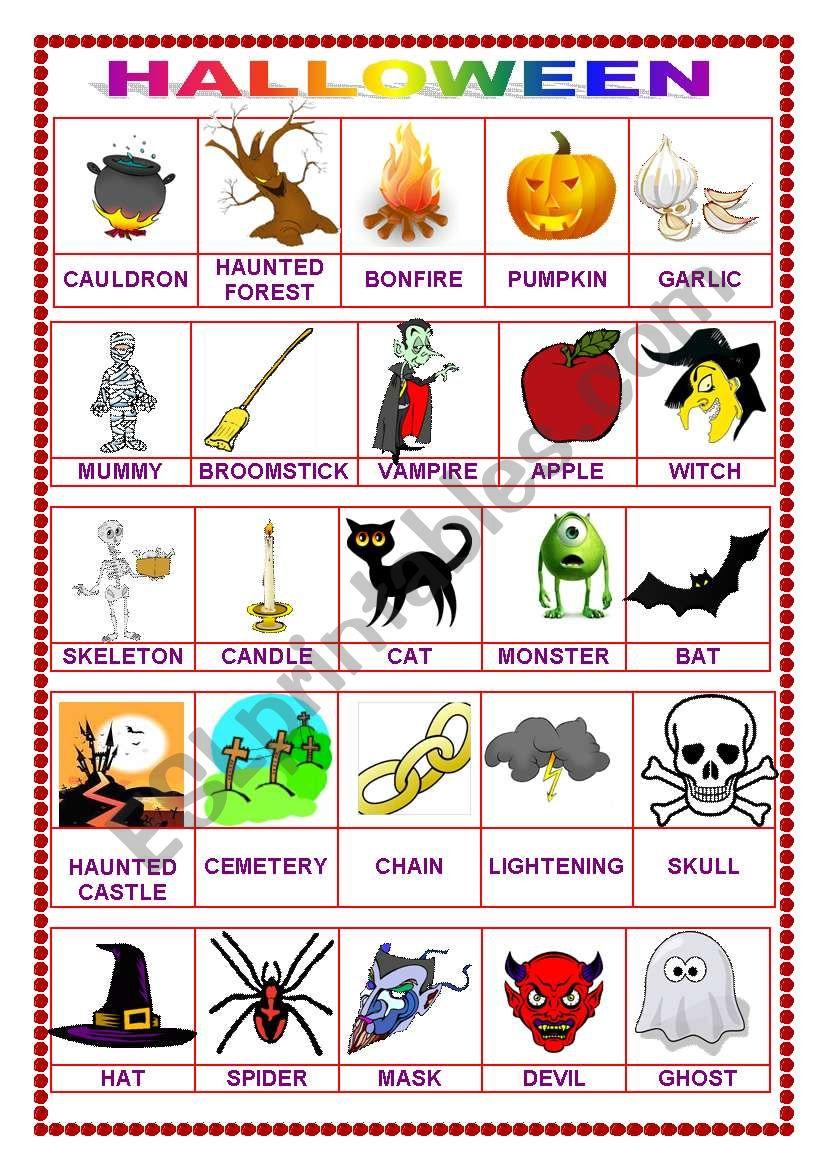Halloween pictionary (29.08.10)