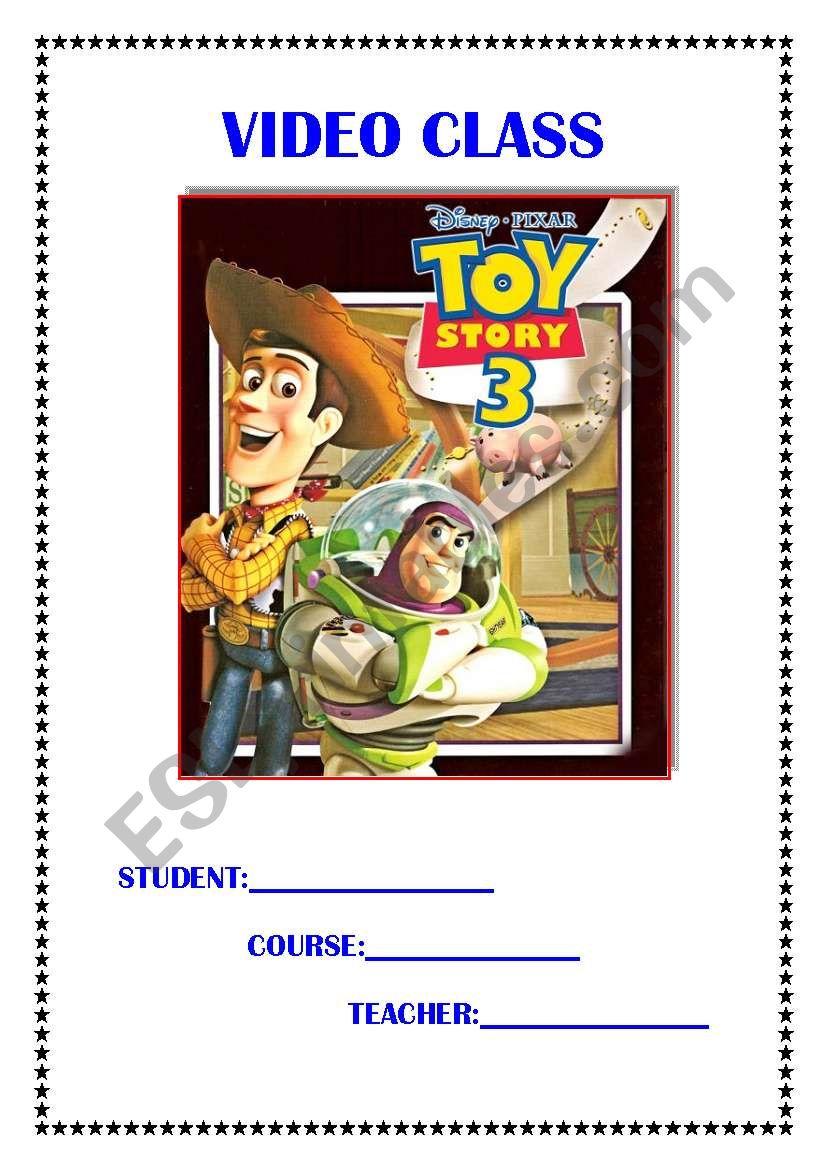 Toy Story 3!! worksheet